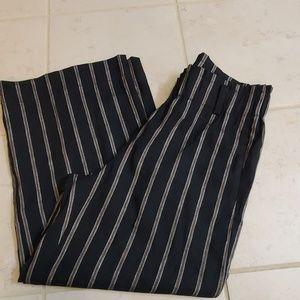 J.jill Linen Stetch Crop Pants